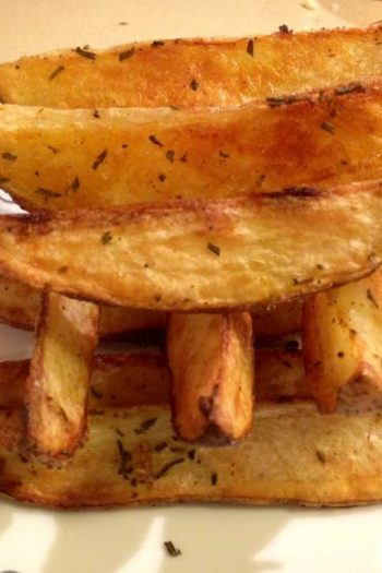 Garlic Rosemary Oven Fries
