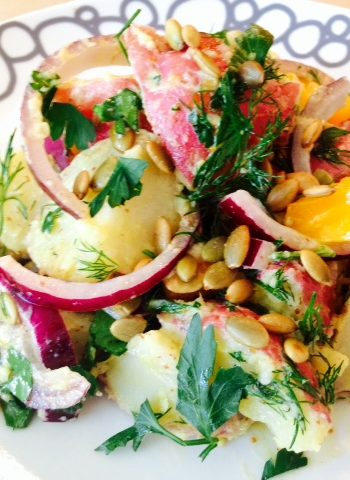 Dreamy Dijon Picnic Potato Salad