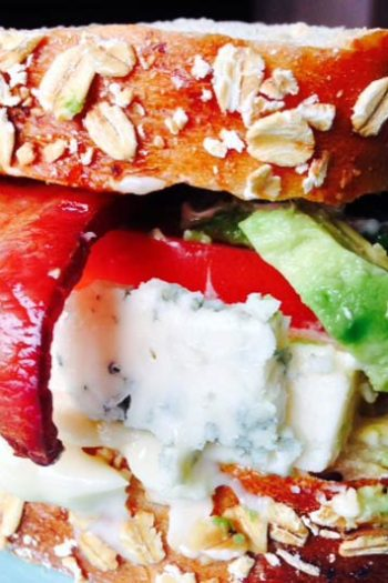 Ultimate Blue Cheese BLT Sandwich
