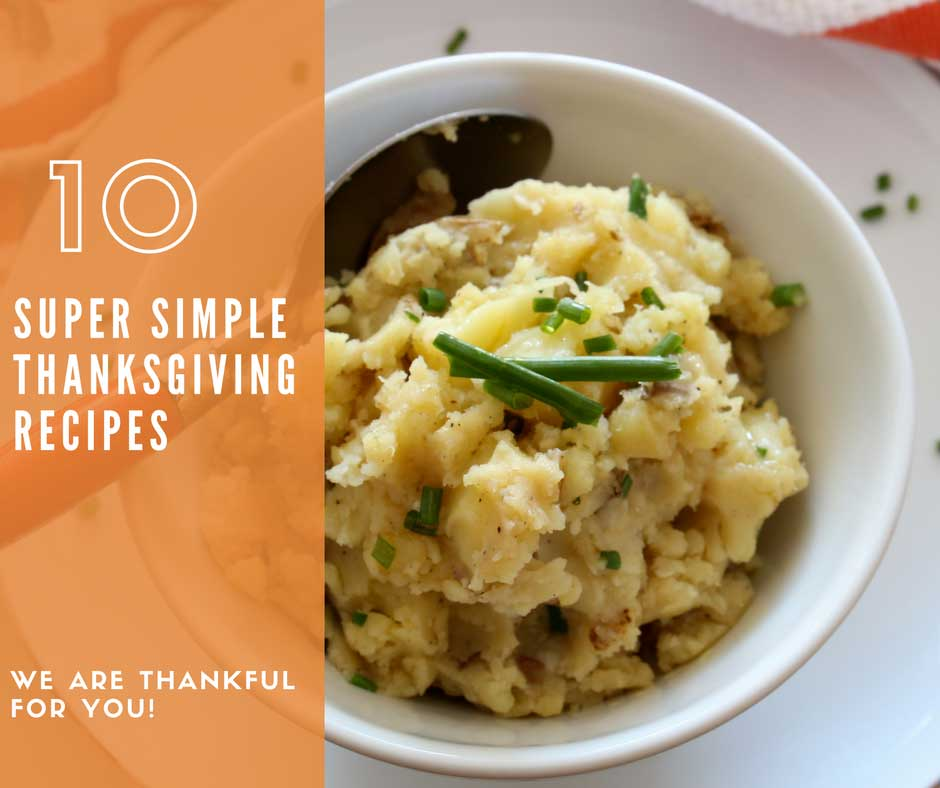 Top 10 Thanksgiving Sides Recipes