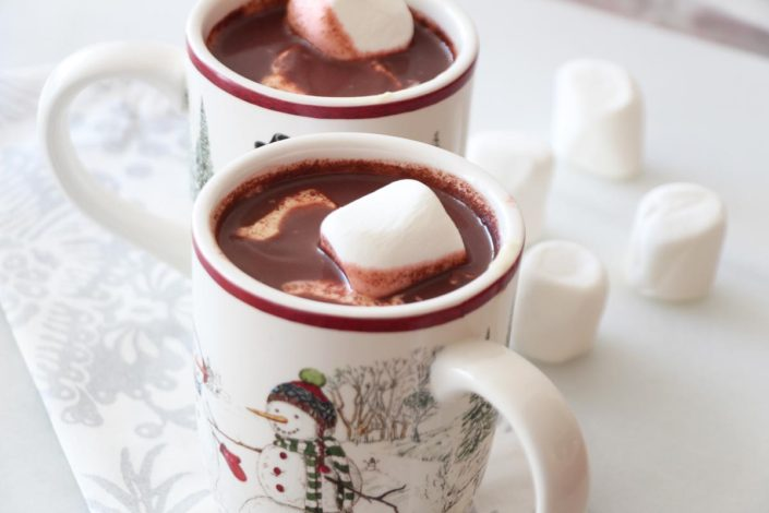 Red Velvet Cake Hot Chocolate