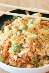 Cauliflower Fried Rice (faster then take out)
