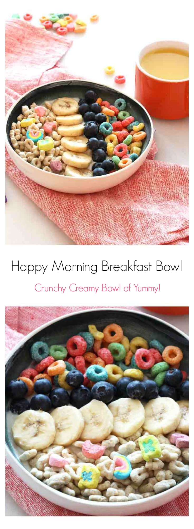 Breakfast is the most important meal of the day, so it shouldn't be boring. Quick is key, and this speedy recipe provides a crunchy, creamy, colorful bowl. ChopHappy.com