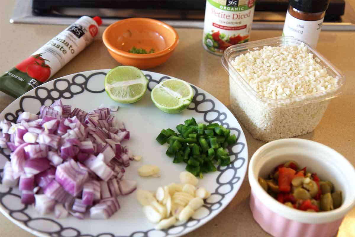 Cauliflower Mexican Rice Recipe