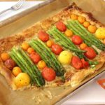 Asparagus and Gruyere Puff Pastry Pizza Recipe