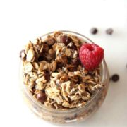 Wake up to the breakfast made by your refrigerator. Serving you coffee and breakfast in one. Chocolate Espresso Overnight Oats Recipe . ChopHappy.com