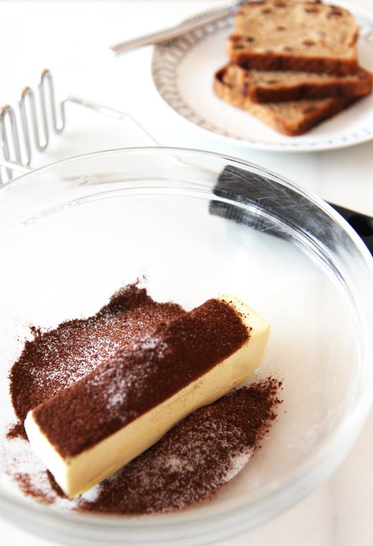 How to Make Chocolate Butter. Such easy recipe that tastes like brownie butter. ChopHappy.com.