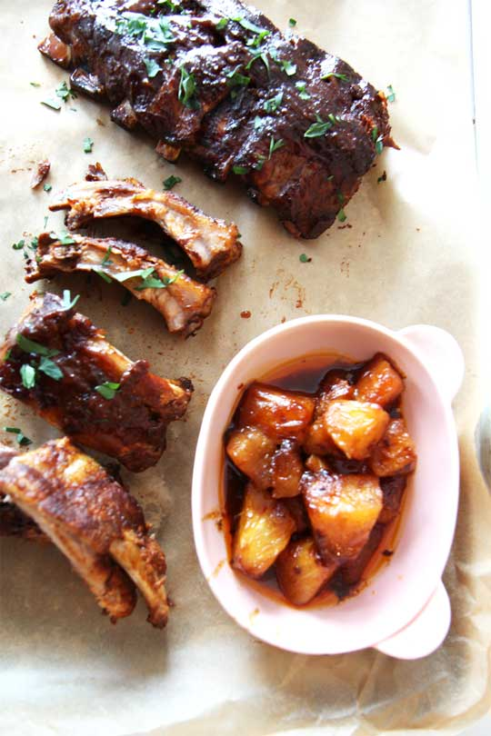Slow Cooker Smokey BBQ Ribs Recipe.