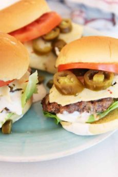 Ultimate Spicy Cheese Burger