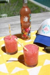 How to Make Island Frosé (Frozen Rosé)