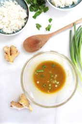 Simple Tangy Ginger Dressing