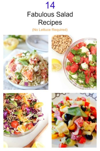 14 Fabulously Fast Salads Recipes (No Lettuce Required)