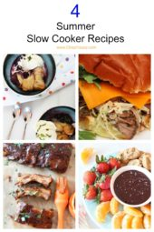 4 Summer Slow Cooker Recipes