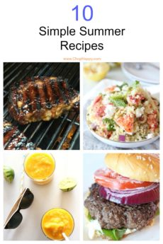 10 Simple Summer Recipes