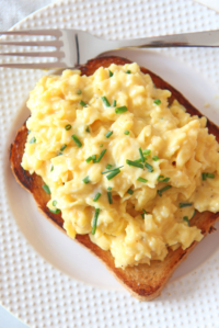 How To Make The Creamiest Scrambled Eggs