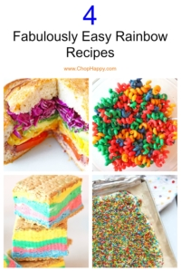 4 Fabulously Easy Rainbow Recipes