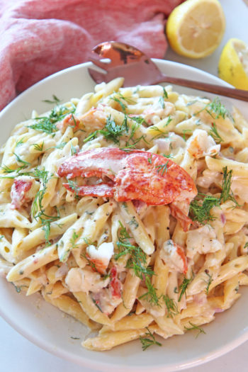 Easy Lobster Mac and Cheese