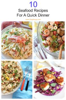 10 Seafood Recipes For a Quick Dinner