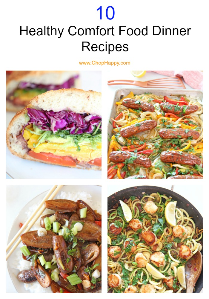 10 Healthy Comfort Food Dinner Recipes