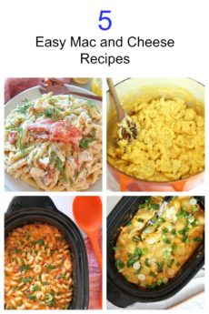 5 Easy Mac and Cheese Recipes