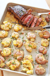 Sheet Pan Steak and Crispy Potatoes