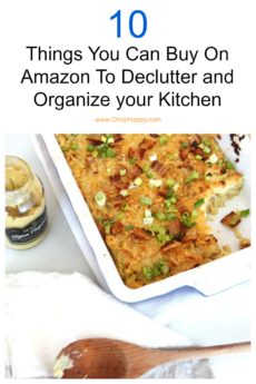 10 Things You Can Buy On Amazon To Declutter and Organize your Kitchen #organize #declutter