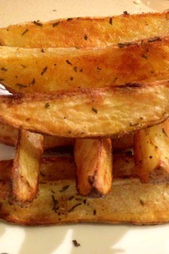 Garlic Rosemary Oven Fries