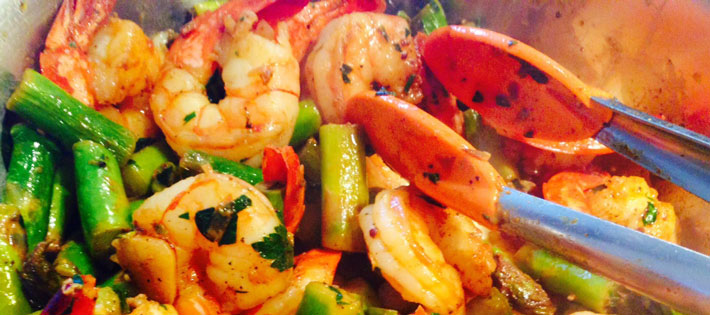 Shrimp and Asparagus Recipe