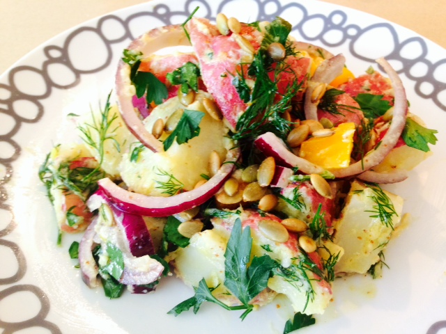 Dreamy Dijon Picnic Potato Salad