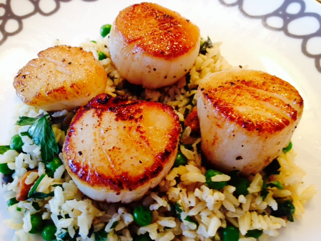 Happy Seared Scallops Recipe