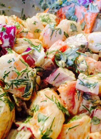 Beach Day Shrimp Salad