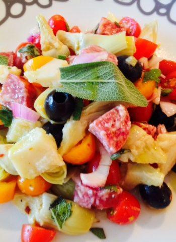 Salami Party Salad Recipe