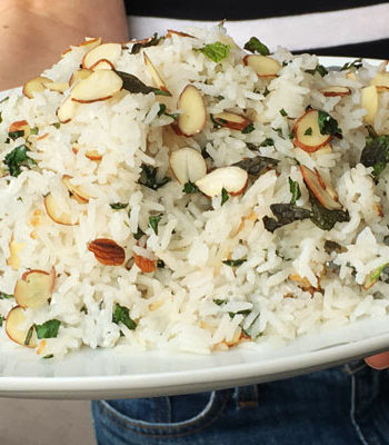Island Coconut Rice (turns bland rice into a party)