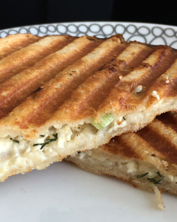 Greek Grilled Cheese Sandwich