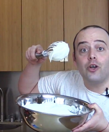 How to Make Whipped Cream (in half the time)