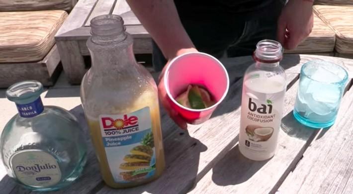 Taquila Coladas Ingredients