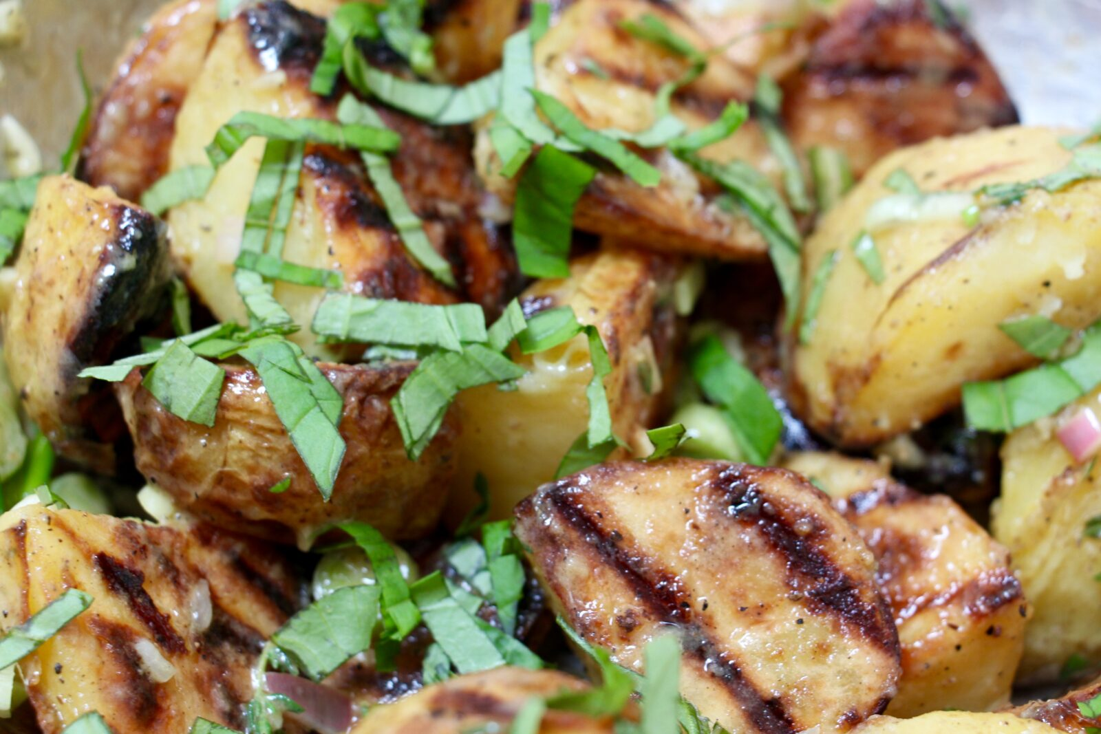 How to Grill Potatoes (so your potato salad will rock)