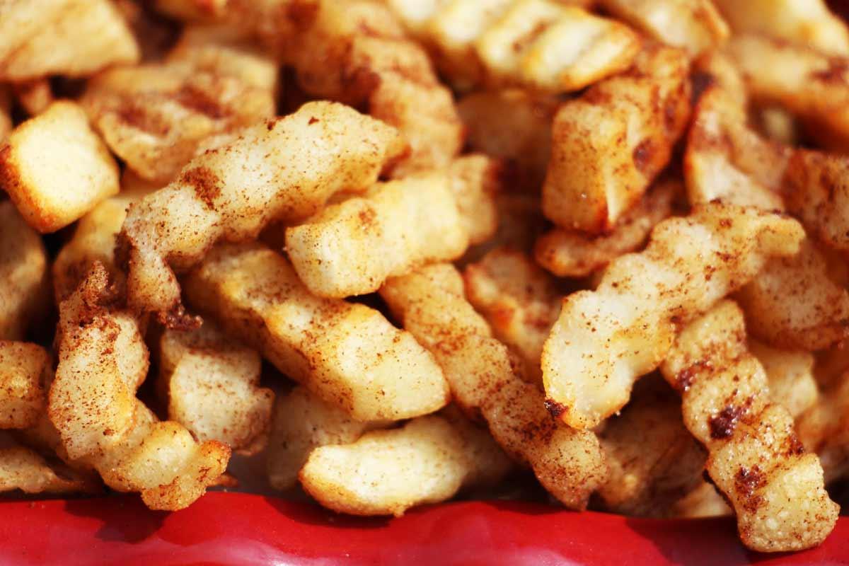 Cinnamon Sugar French Fries