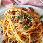 5 Ingredient Chorizo Carbonara Pasta