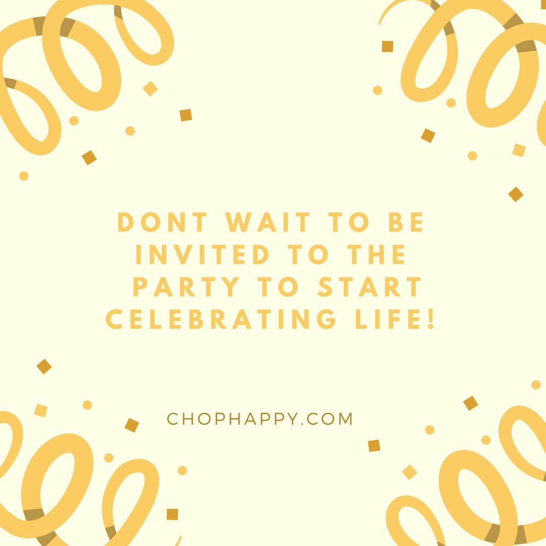 ChopHappy.com Dash of Gratitude Quote
