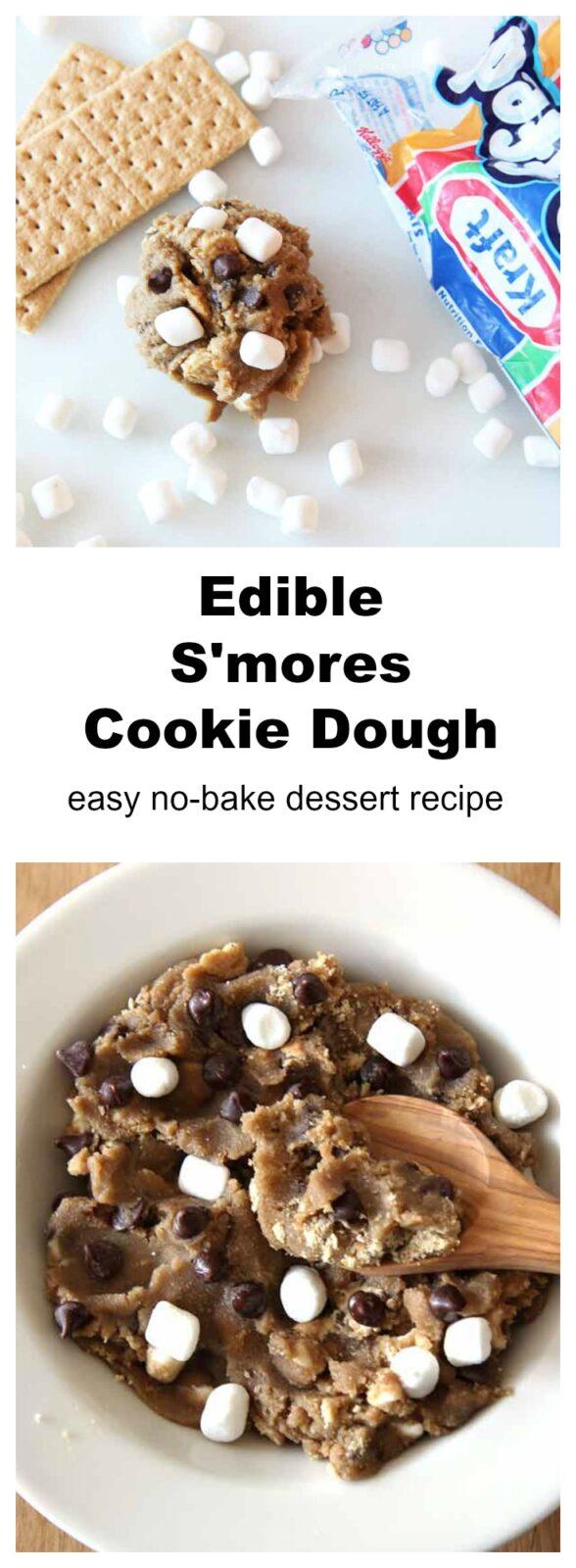 Edible S'Morse Cookie Dough Recipe