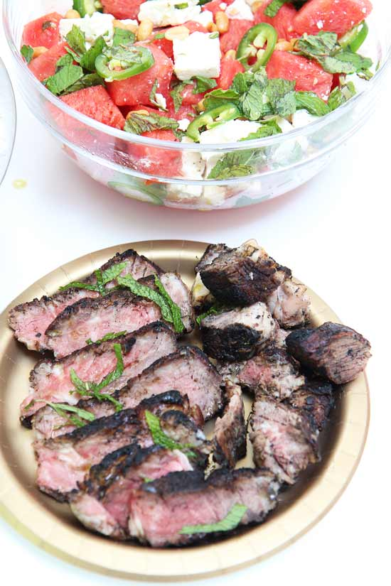Chili Ribeye Steak Recipe - that is super easy to make and says I love you! www.ChopHappy.com