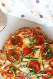Meatloaf Pizza Recipe (weeknight smiles)