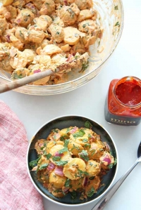 Creamy Harissa Potato Salad