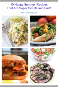 10 Happy Summer Recipes That Are Super Simple and Fast