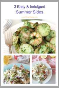 3 Easy Decadent Summer Side Dishes