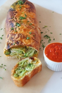 Broccoli and Cheese Stromboli
