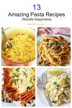 13 Amazing Pasta Recipes (Noodle Happiness)
