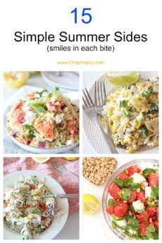 15 Simple Summer Sides (smiles in each bite)