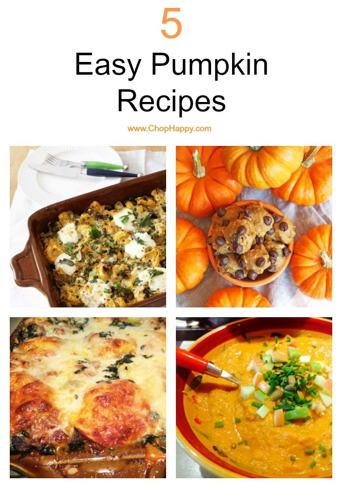5 Easy Pumpkin Recipes